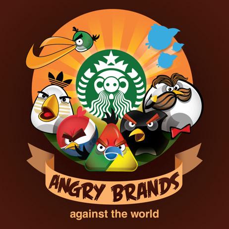 Angry Birds y marcas