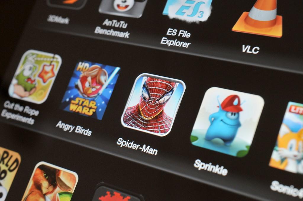 Kindle Fire HD 8,9 - aplicaciones