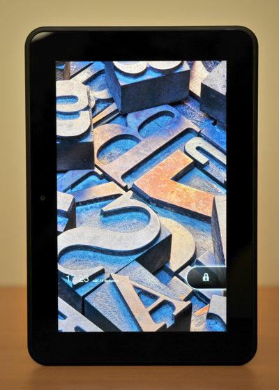 Kindle Fire HD 8,9 - frontal