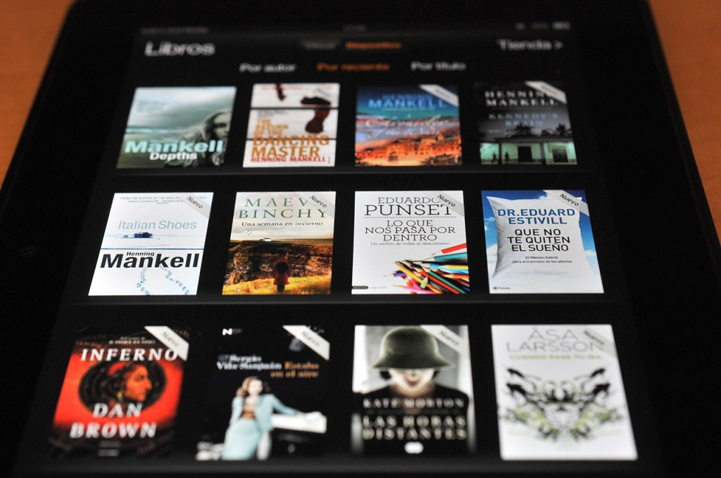 Kindle Fire HD 8,9 - libros