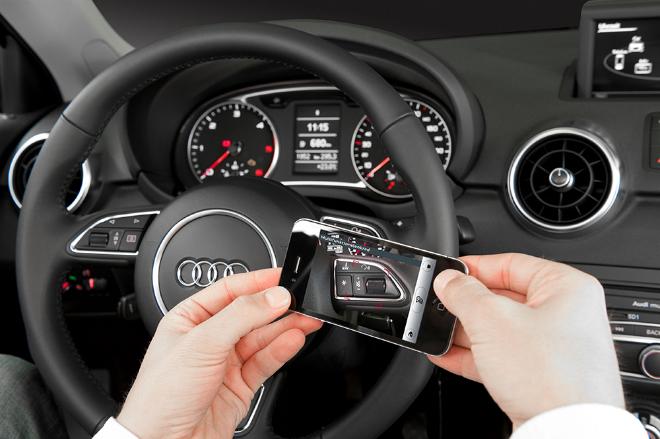 App realidad aumentada para Audi A3