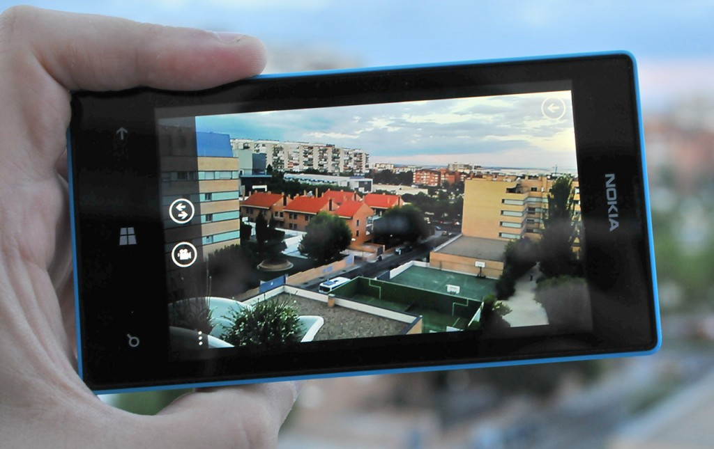 Nokia Lumia 520 camara