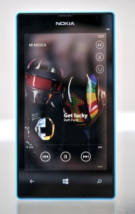 Nokia Lumia 520 musica