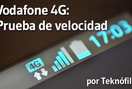 Vodafone 4G - Prueba de velocidad