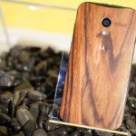 Moto X en madera
