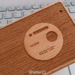 Nokia Lumia 1020 en madera