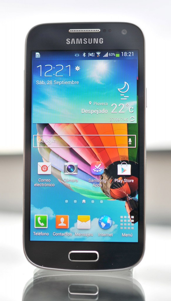Galaxy S4 frontal