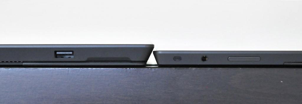 Grosor Microsoft Surface Pro - Pro vs RT