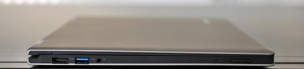 Lenovo IdeaPad Yoga 13 - lateral izquierdo
