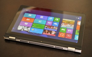 Lenovo IdeaPad Yoga 13 - modo tablet