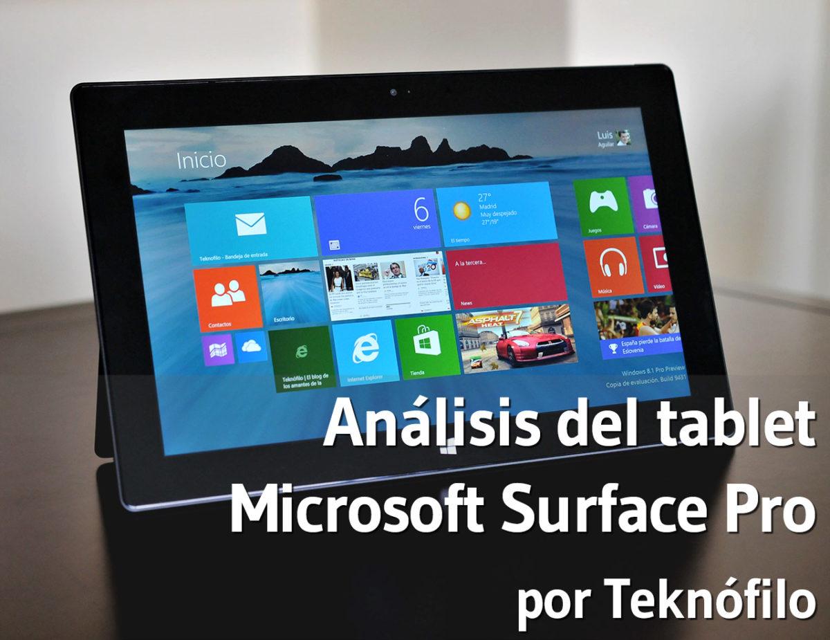 Microsoft Surface Pro - Analisis