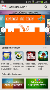 Samsung Apps en Galaxy S4 Mini