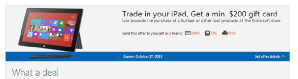Cambia tu iPad por dinero