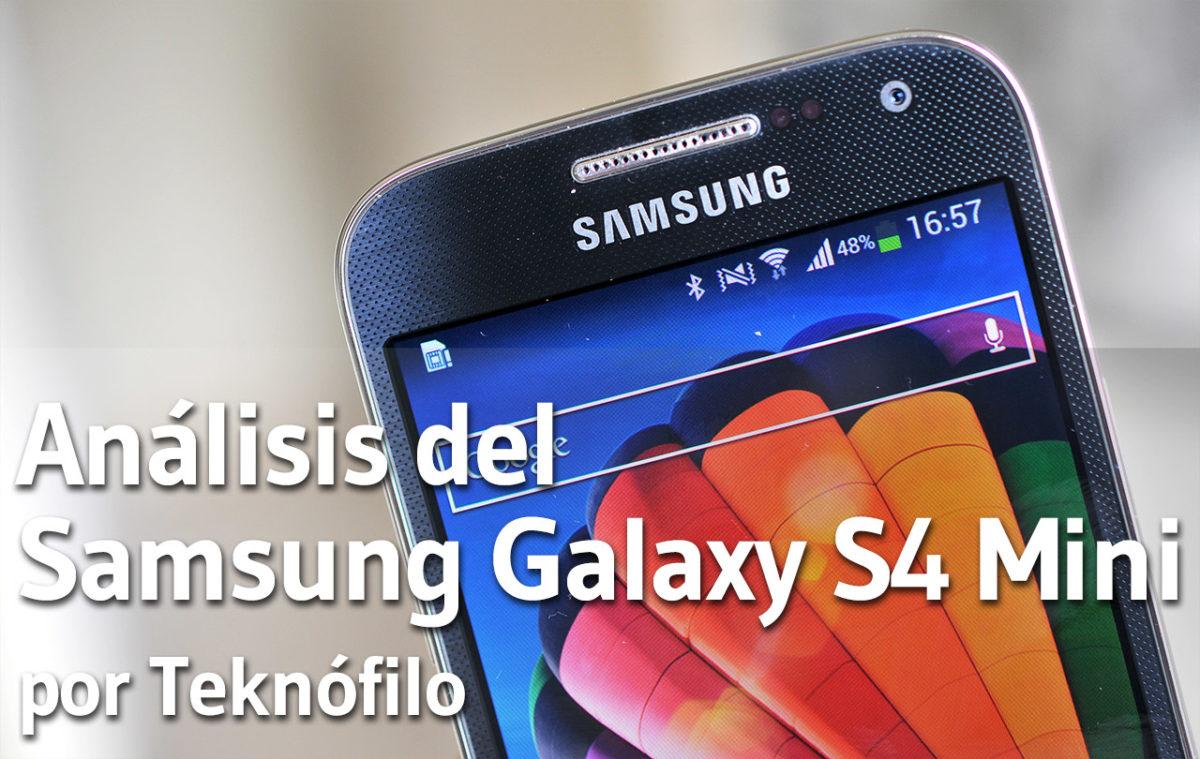 Análisis del Samsung Galaxy S4 Mini