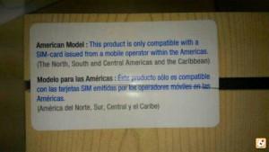 Galaxy Note 3 Bloqueo de SIM