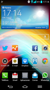 Interfaz LG G2