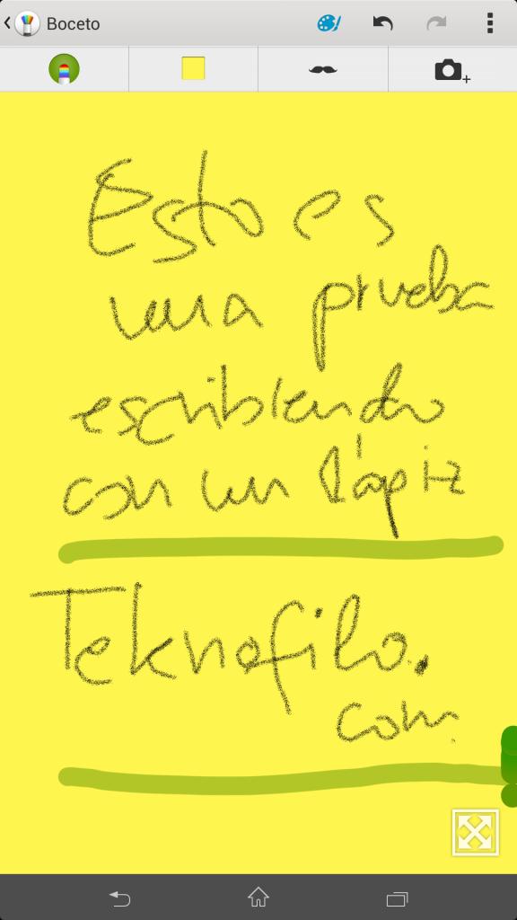 Escritura en pantalla