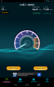 Velocidad WiFi Nexus 7