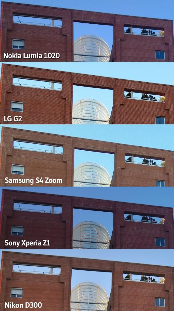 Comparativa edificio