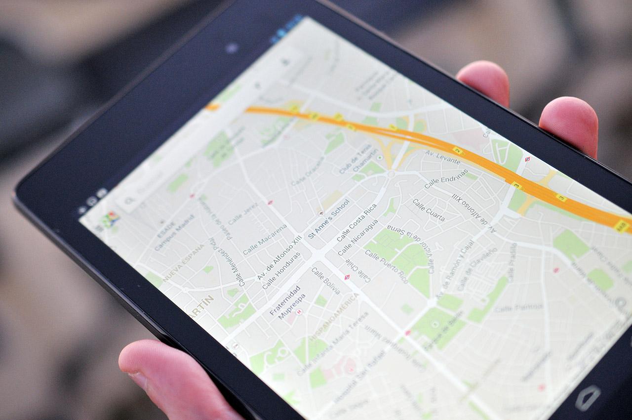 Google Nexus 7 (2013) - Google Maps