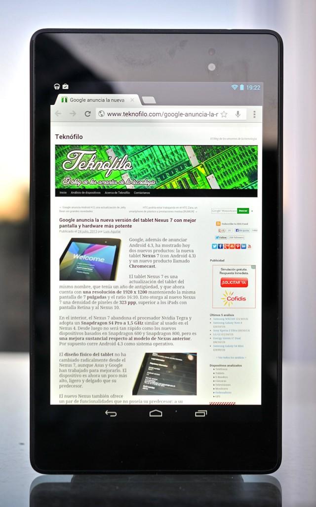 Google Nexus 7 (2013) - Teknofilo
