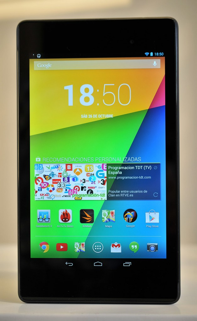 Google Nexus 7 (2013) - frontal