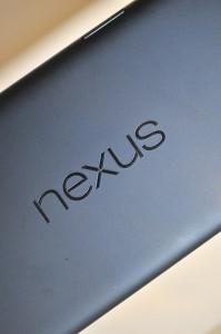Google Nexus 7 (2013) - logo nexus