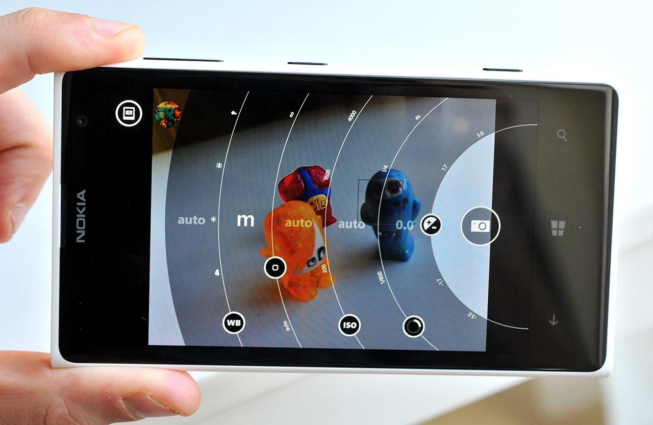 Nokia Lumia 1020 - Interfaz cámara