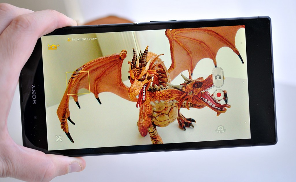 Sony Xperia Z Ultra - camara
