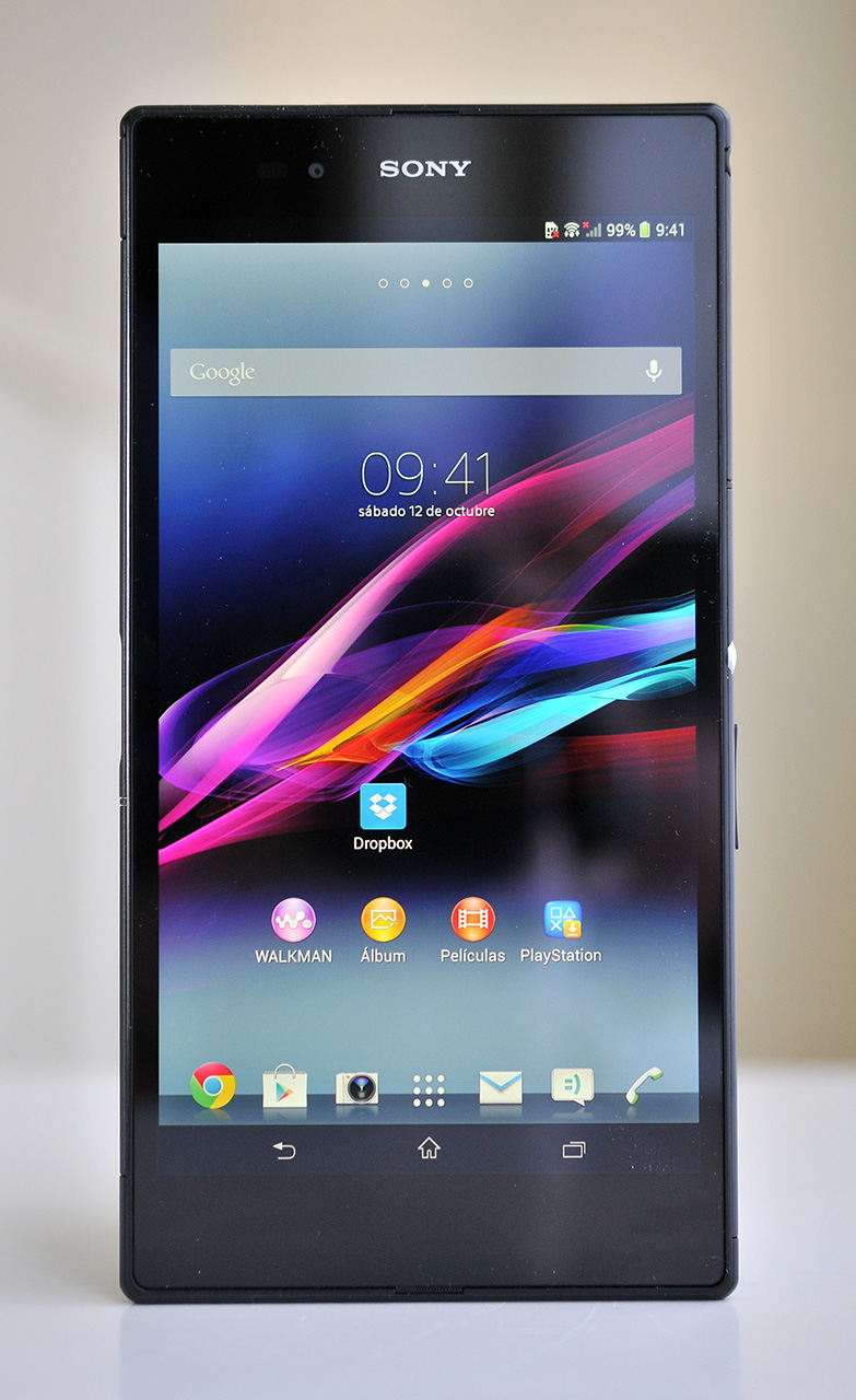 Sony Xperia Z Ultra - frontal
