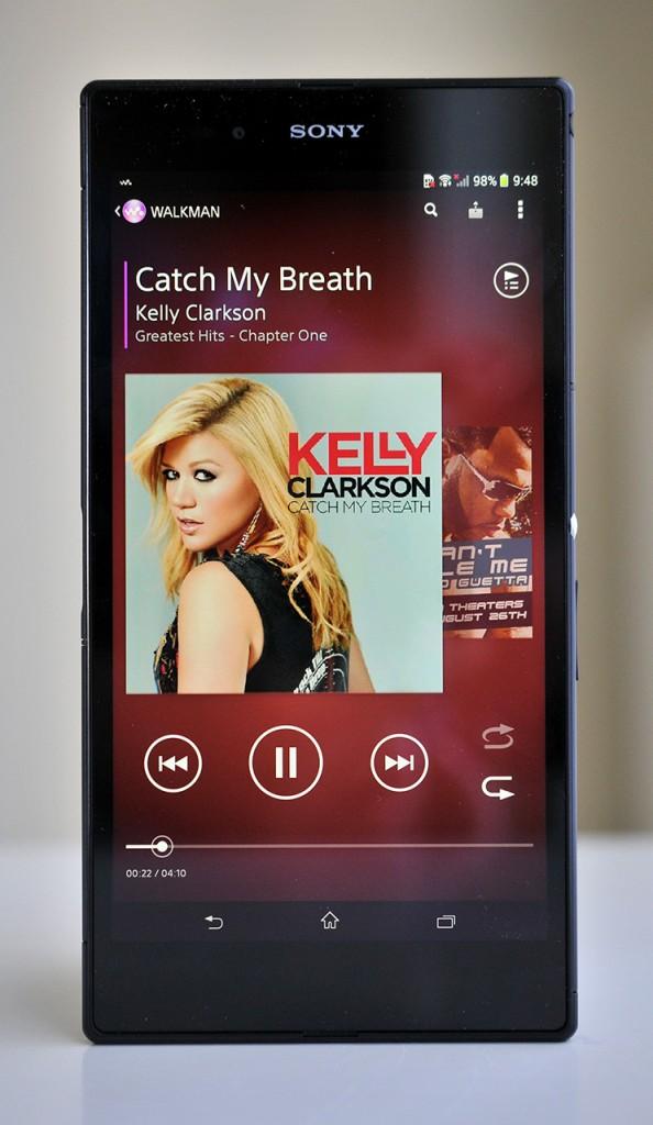 Sony Xperia Z Ultra - Walkman