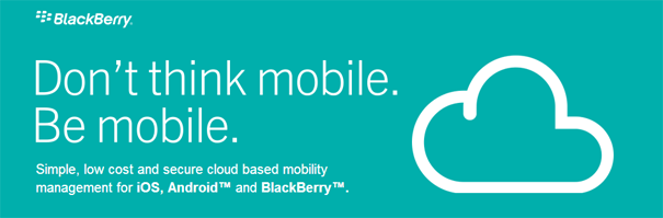 Nuevo servicio cloud de Blackberry