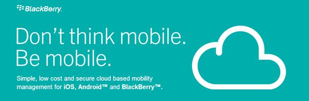 Nuevo servicio cloud de Blackberry