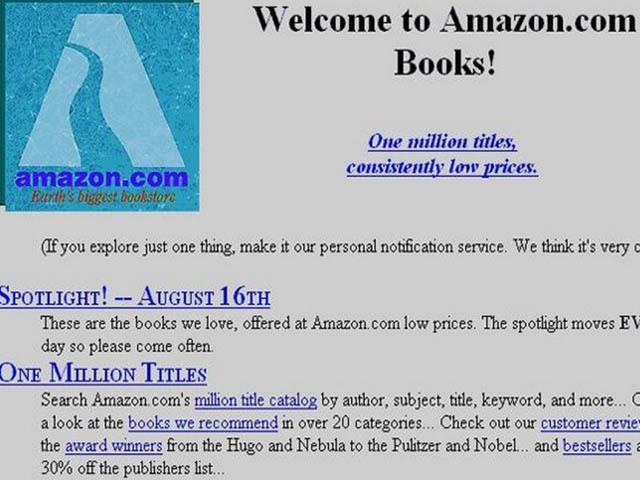 Amazon en 1995