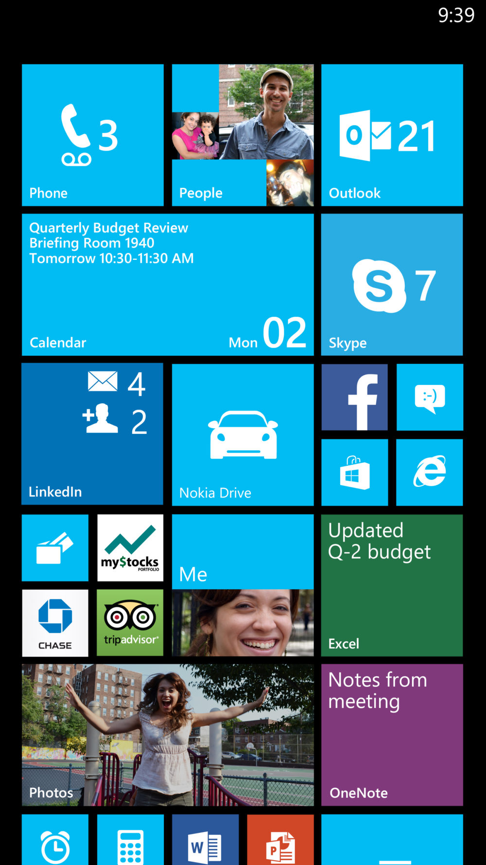 Pantalla Inicio Windows Phone 8 Update 3