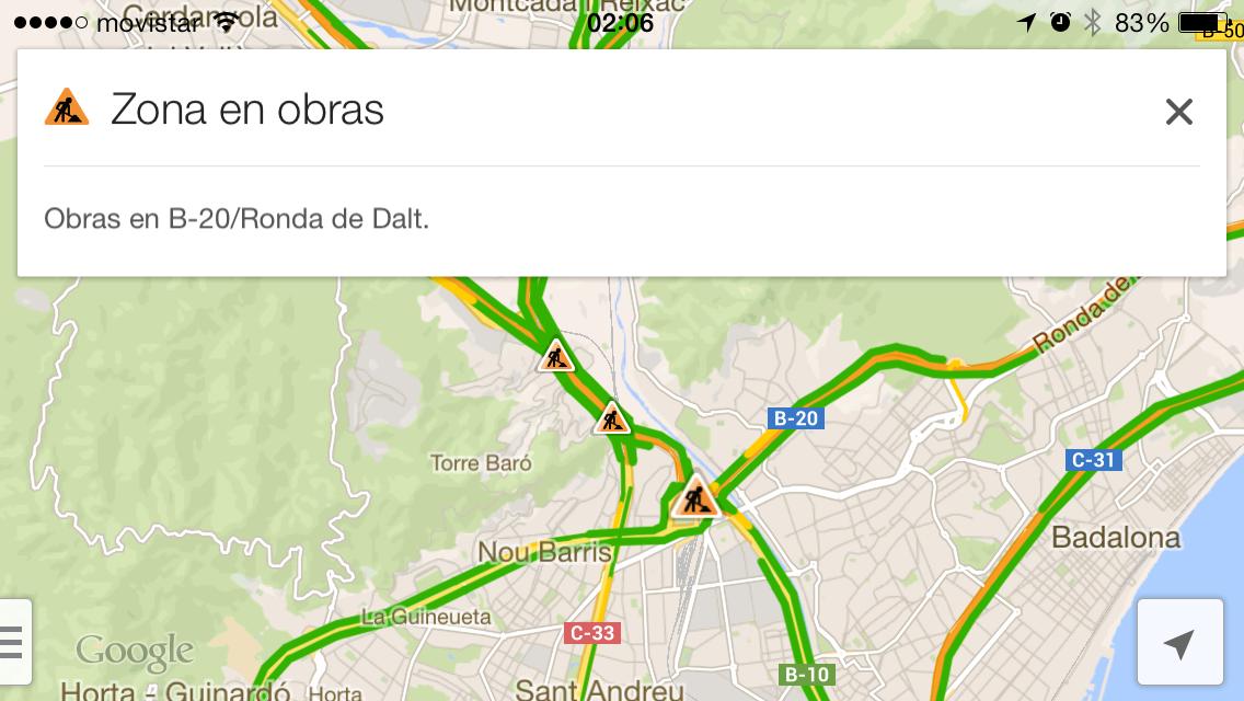 Google Maps con Waze