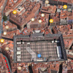 Vista 3D de Apple Maps