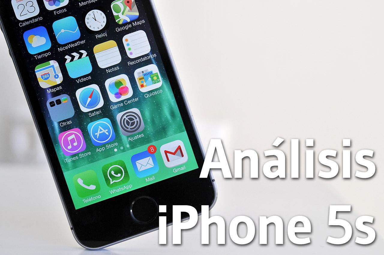 Analisis del iPhone 5s