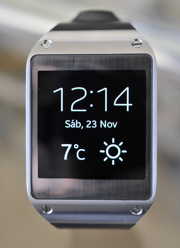 Galaxy Gear - Frontal