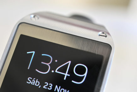 Galaxy Gear - Pantalla