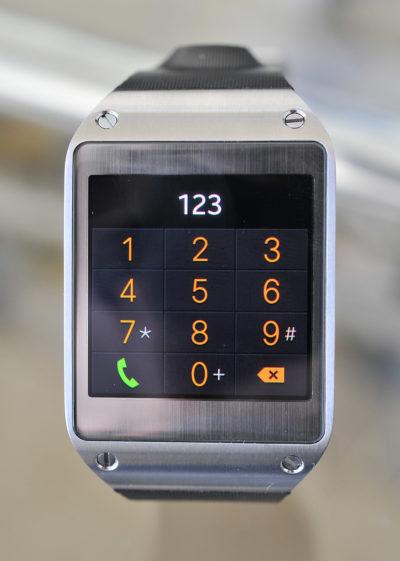 Galaxy Gear - Telefono