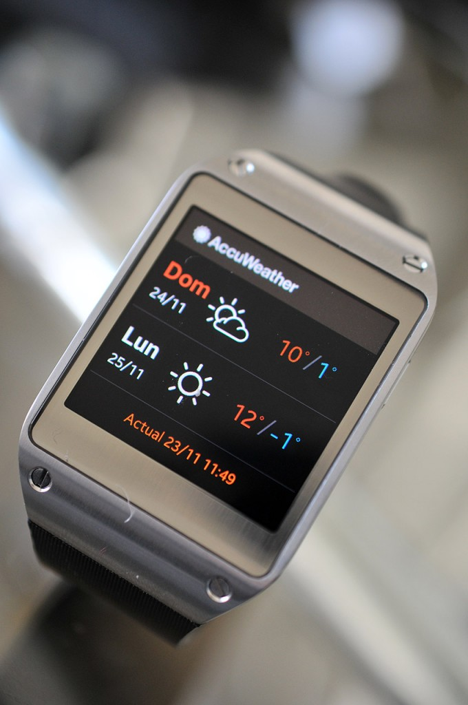 Galaxy Gear - Weather