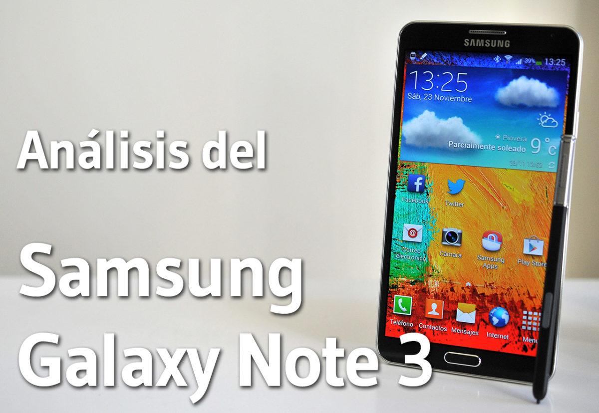 Samsung Galaxy Note 3 - Analisis