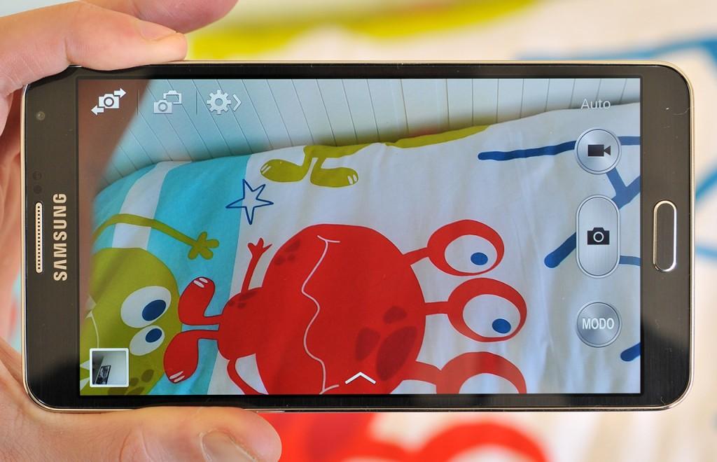Samsung Galaxy Note 3 - Cámara