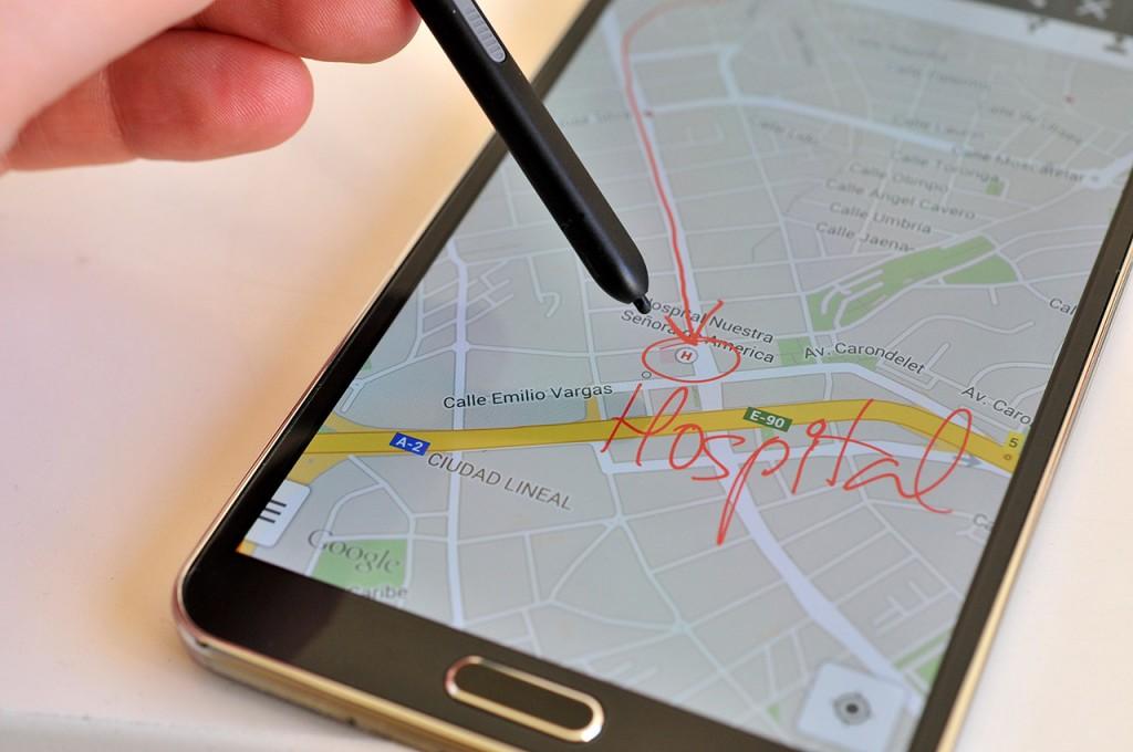 amsung Galaxy Note 3 - Escritura Pantalla