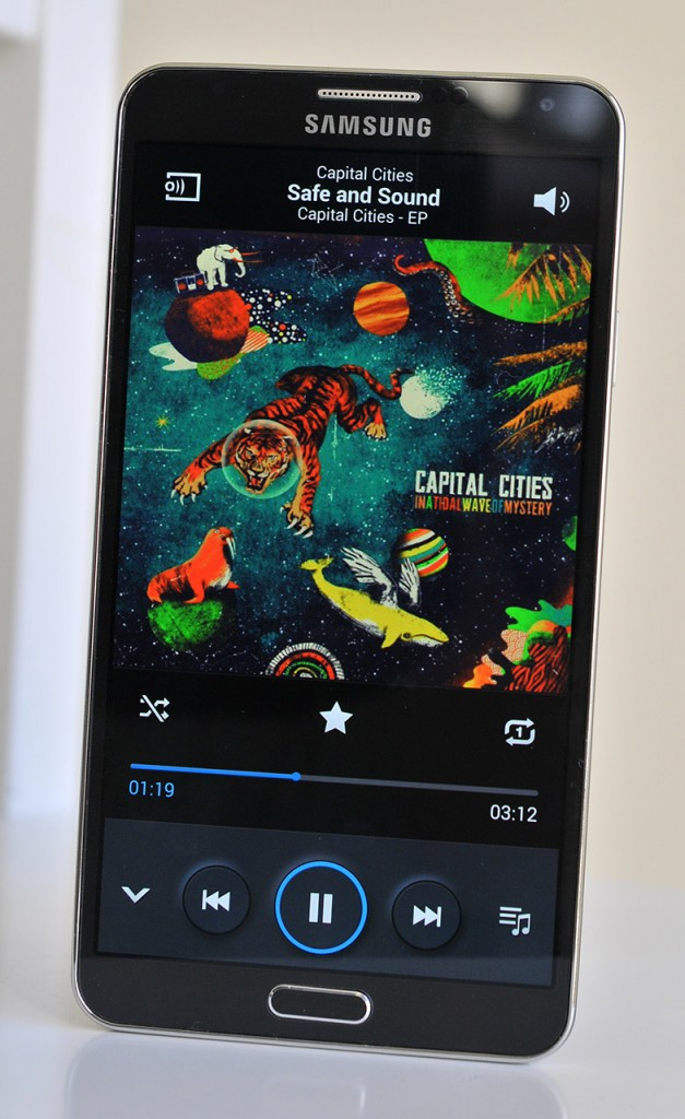 Samsung Galaxy Note 3 - Musica