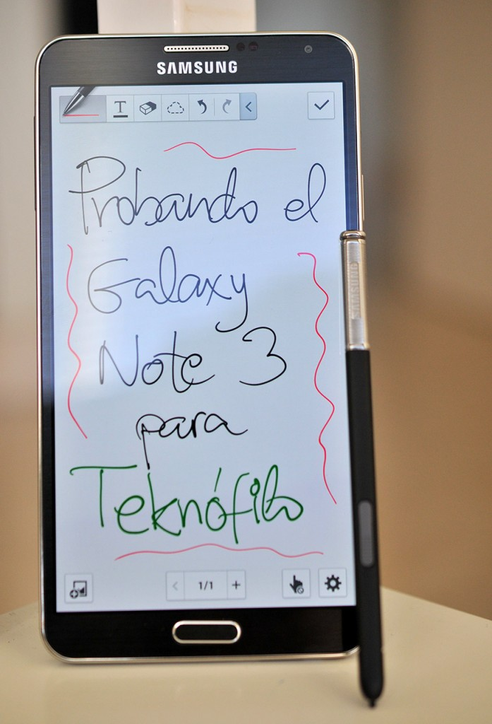 amsung Galaxy Note 3 - S Note