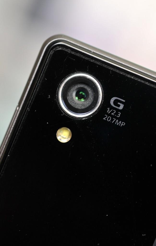 Sony Xperia Z1 - camara