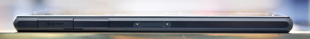 Sony Xperia Z1 - izquierda