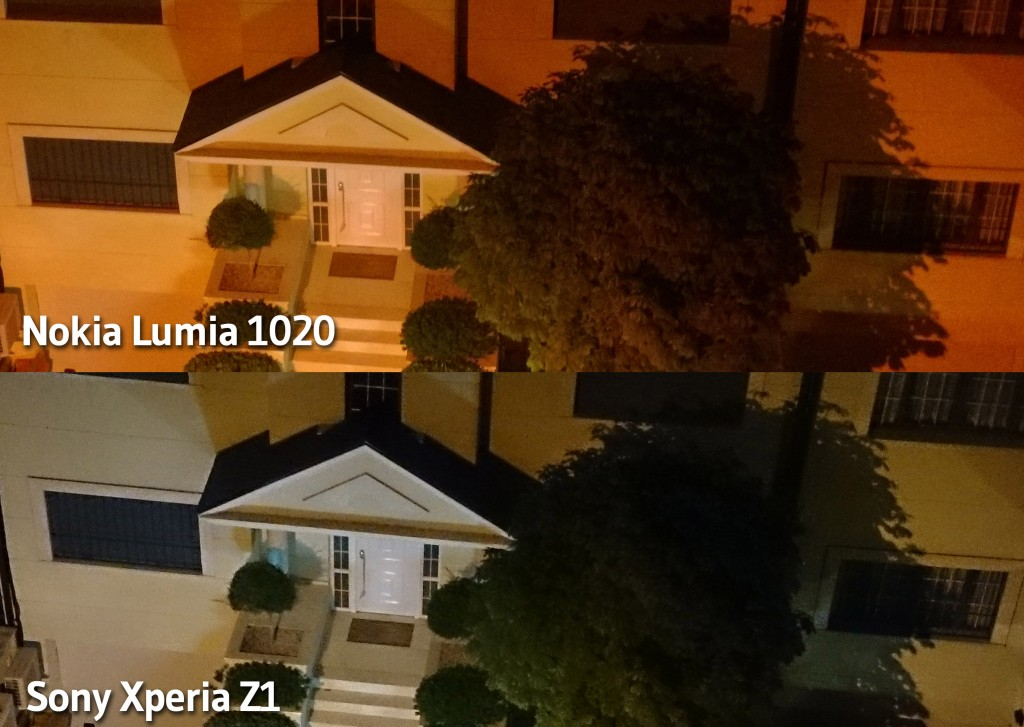 Xperia Z1 vs Lumia 1020